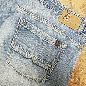 Destroyed Buffalo David Bitton men's jeans